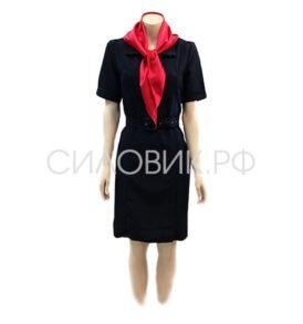 Платье Полиции, короткий рукав
