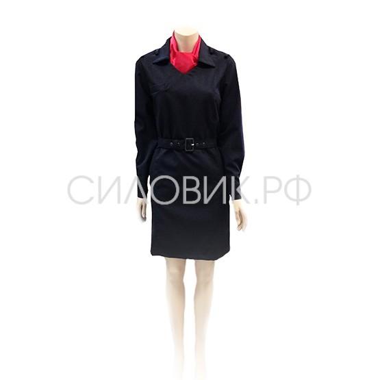 Платье полиции, длинный рукав